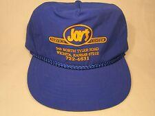 VINTAGE HAT Mens Cap JOY'S (Auto) SERVICE CENTER Wichita, Kansas [Z5d]