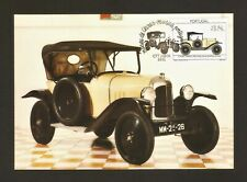 1992 - Portugal - Maximum Card - 1922 Citroen Torpedo 5Hr - Museu de Oeiras