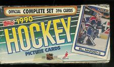 1990-91 TOPPS HOCKEY COMPLETE OPENED FACTORY SET 1-396
