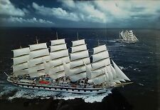 """Royal Clipper with Star Clipper"" Fine Art Aerial Photography by Harvey Lloyd"