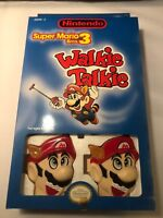 Vintage Nintendo SUPER MARIO BROS 3 Walkie Talkie New In Box  NES Fast Ship