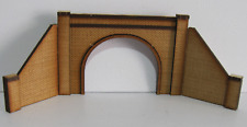 Trackside Models - HO Scale - Laser Cut Double Tunnel Portal - SM1070