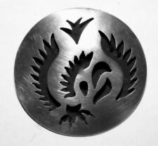 TAXCO STERLING MODERNIST FIGHTING COCK BROOCH/PENDANT