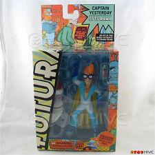 Futurama Fry as Captian Yesterday 2008 series 4 Toynami with robot Santa part