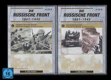 2 DVD SET DIE RUSSISCHE FRONT TEIL 1 + 2 (zweiter Weltkrieg) - 2ter *** NEU ***