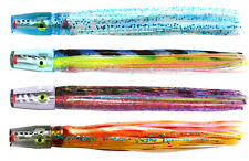 4 pack of Pakula Uzi®. Awesome Game Fishing Trolling Lures. BRAND NEW