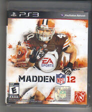 MADDEN NFL 12 EA SPORTS PS3 PLAYSTATION 3 2012