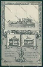 Livorno Città Militari Marina Militare cartolina QQ3669