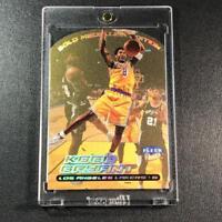 KOBE BRYANT 1999 FLEER ULTRA #50G GOLD MEDALLION DIE CUT FOIL PARALLEL CARD NBA