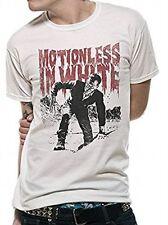 CID Men's Motionless in Munster T-shirts White Medium
