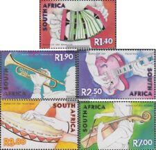 Südafrika 1398-1402 (kompl.Ausg.) FDC 2001 Musikinstrumente