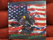 ROCK LP: VENOM American Assault (Bside Live Tracks) COMBAT RECORDS 1985 New York
