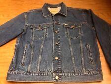 Vintage Levi's Denim Jean Truckers Jacket Coat Men's Large Classic Jean Levis