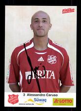 Alessandro Caruso Autogrammkarte SV Wehen 2006-07 Original Signiert+A 141105