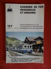 LIVRE SNCF CHEMINS DE FER RÉGIONAUX ET URBAINS  1980