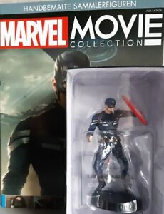 Marvel Movie Collection #17 Captain America Figurine the Return of First Avenge