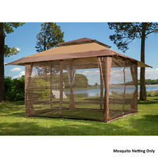 Mosquito Netting Screen for 10' x 10' Gazebo