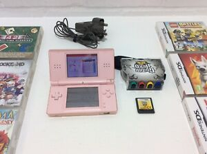 NINTENDO DS LITE, AND GAMES BUNDLE,  10 Games, See Photos