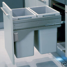 Hailo Euro Cargo Kitchen Pull out Waste Bin Soft Close for 500mm Unit
