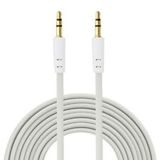 UNIVERSAL 3.5mm Male To Male Flat Stereo Audio AUX Cable Cord For iPhones iPods