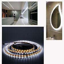 2m LED Tira de Luz del Gabinete Blanco Frío 120 LED Luz de cinta 12v LED 9.6w Impermeable
