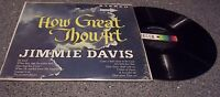"Jimmie Davis ""How Great Thou Art"" Decca Gospel/Country LP"