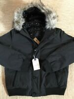 Men's American Eagle AEO All-Weather Bomber Jacket Large Black - New With Tags