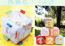 PATTERN - ABC 123 - fun soft toy blocks PATTERN for babies & toddlers