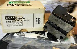 RCBS 45-280-M mold New in original box, Minié ballfor .45 muzzle loading rifles