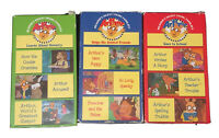 Lot Of Arthur VHS Readers Digest Young Familes PBS Kids RARE 1996