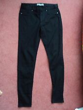 """PRIMARK BLACK SUPER SKINNY JEGGINGS SIZE 10 SHORT APPROX 30"""" - NEW WITH TAGS"""