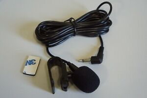 Professional Car Audio External Microphone 3.5mm Jack Plug Wired For Auto PC
