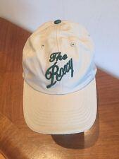 The Roxy Restaurant Oshkosh Wisconsin Cap Hat Beige Adjustable