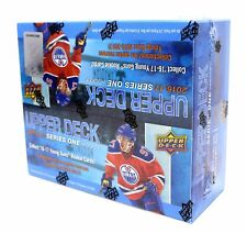 2016-17 Upper Deck Series 1 Factory Sealed Hockey Retail Box