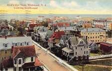 Wildwood New Jersey Birdseye View Of City Antique Postcard K69095