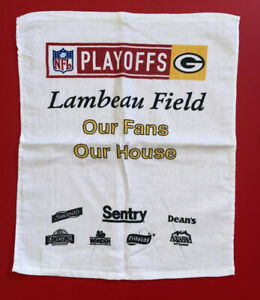 GREEN BAY PACKERS Playoffs Lambeau Field NFL SGA Towel Rag