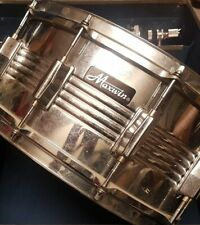 More details for vintage pearl maxwin drum kit breakables snare, case, bass pedal, hi-hats stands
