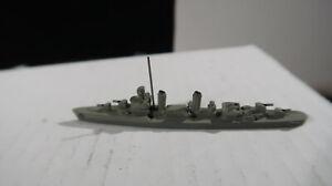 1:1200 Metal US Navy Benson Class Ship Destroyer