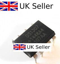 2Pcs IC DS1307 DS1307N DIP8 RTC SERIAL 512K I2C Real-Time Clock TOP UK SELLER