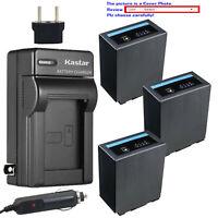 Kastar Battery AC Travel Charger for CGA-D54 Pro & Panasonic AG-DVC33 AG-DVC60