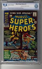 Marvel Super-Heroes King-Size (1966) # 1 CGC 9.6 White Pages- Bill Everett Cover