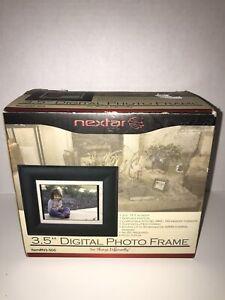 """Nextar Black 3.5"""" Digital Photo Frame"""