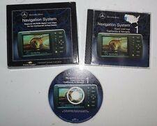 Mercedes Benz Navigation System Regional CD Rom California Neveda Digital Map 1
