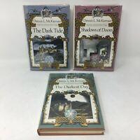 Dennis L McKiernan's IRON TOWER TRILOGY - 3 Signed/Inscribed 1st Ed. HC Books