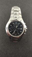 MENS CITIZEN CHRONOGRAPH WRISTWATCH BLACK DIAL GN-4-5