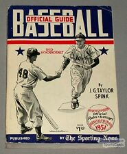 Rare 1951 The Sporting News Baseball Guide
