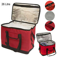 Insulated Cool Bag Foldable Thermos Box Hot Food Delivery Portable Drinks Cooler