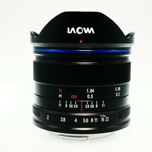 Laowa Venus Optics 7.5mm f/2 MFT Lens for Micro Four Thirds-Beautiful Condition