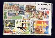 Haute Volta - Upper Volta 100 timbres différents