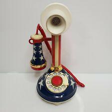 American Telecommunications Corp Patriotic Candlestick Telephone June 1975 USA